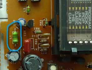 电路板上的电感器
